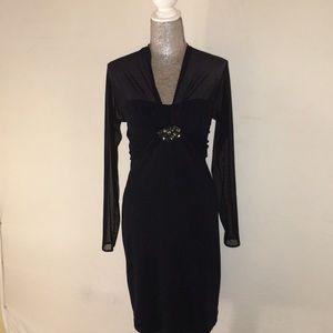Tadashi Shoji Black Dress